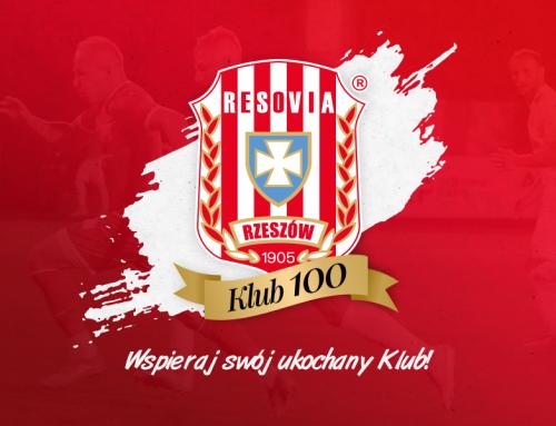 """Zmiana konta bankowego dla członków """"KLUB 100"""""""