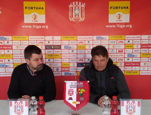 Konferencja prasowa po meczu Apklan Resovia – Górnik Łęczna
