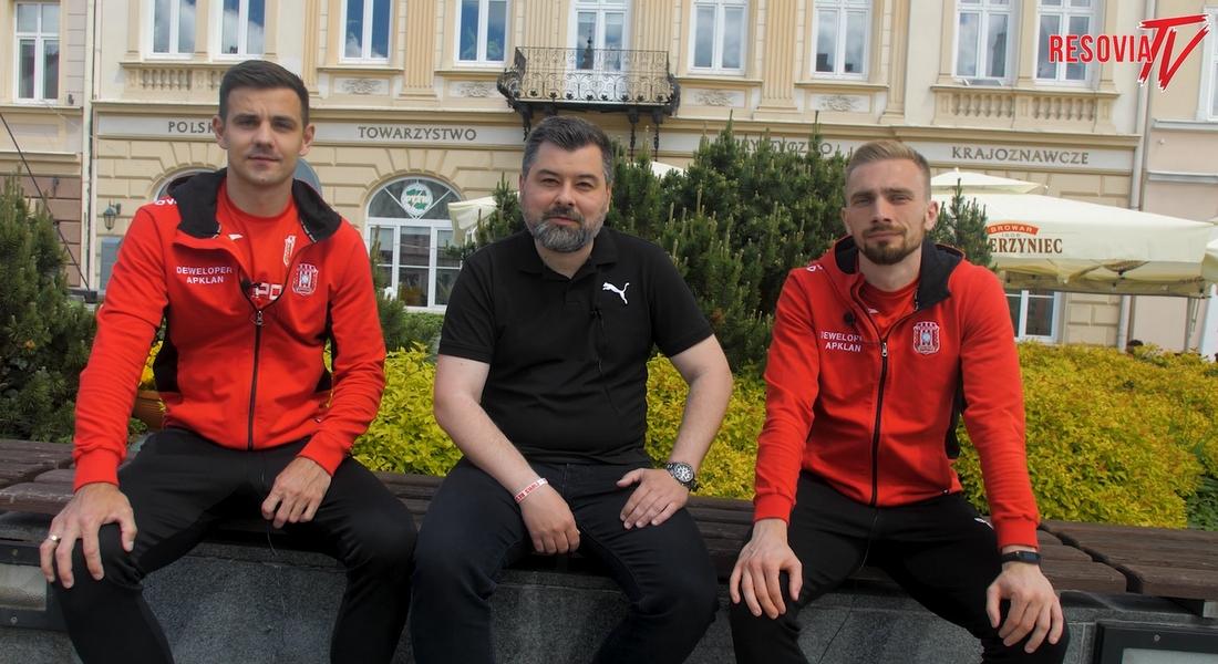 Konrad Domoń i Radosław Adamski zapraszają na mecz z Koroną Kielce